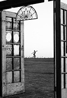 Burning Man surreal art
