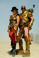Burningman costumes