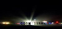 Night lights of Burning Man