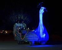 Blue bird mutant vehicle