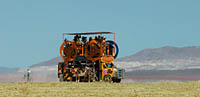 Burning Man party car