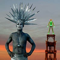 Burning Man portraits