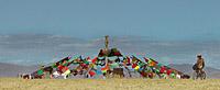Burning Man tent