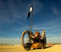 Burning Man mutant vehicle