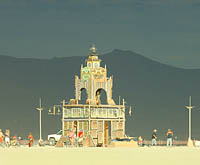 Picture of Burning Man Temple