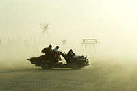Picture of mutant vehicle on playa