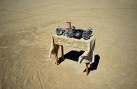 Sense of urgency in desert