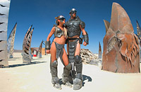 home designed fantastic costumes of Burning Man