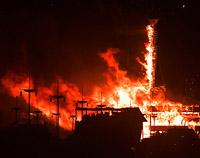 Inferno at Saturday Night burn ritual