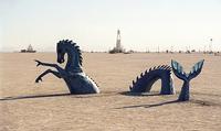 Dragon sunk in playa