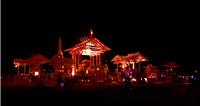 Night shot of temple