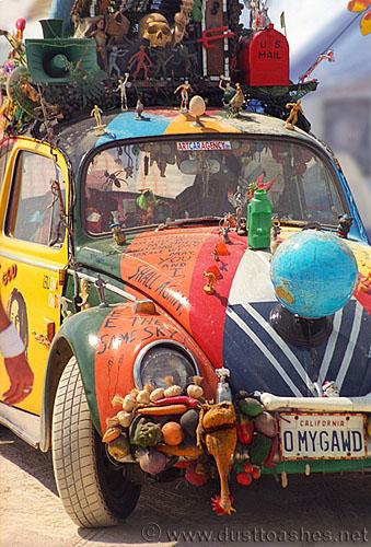 omygawd bug car dust  ashes