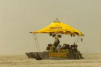 Mobile art of Burning Man Festival