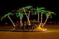 Burningman mobile art vehicle