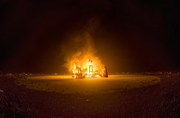 Sunday Night Burning Man Temple Burn