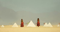 Women and pyramids