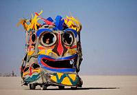 Funny art car