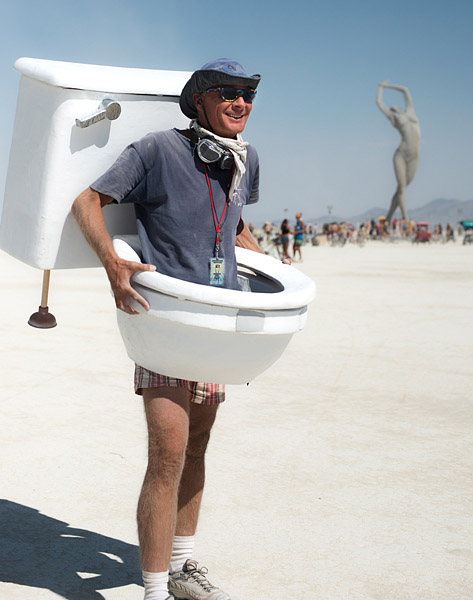Burning Man Public Bathrooms