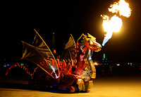 Chinese Dragon car