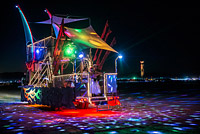 Disco art car
