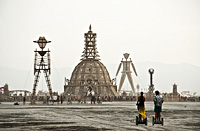 Burning Man and Temple of Grace