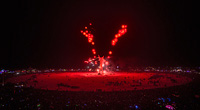 Amazing colorful fireworks