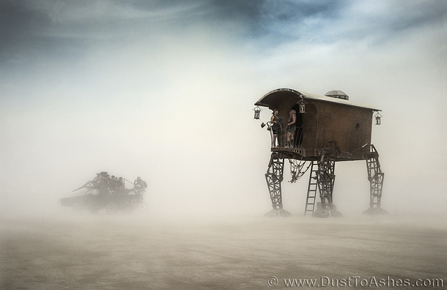 Surreal art sculpture