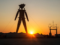 Gate to the Burning Man Circle