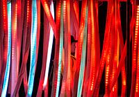 Night photos from Burning Man