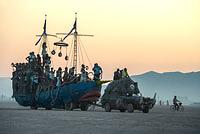 Sunrise over the sailing boat