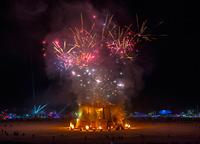 Colorful Saturday Night Fireworks