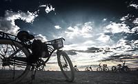 Bikes left behind