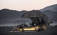 Art car mushroom