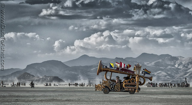 Burning Man art car