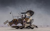 Rabbit Art vehicle