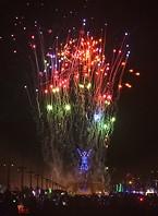 Saturday Night Burning Man 2019