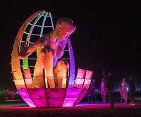 Mariposita woman sculpture